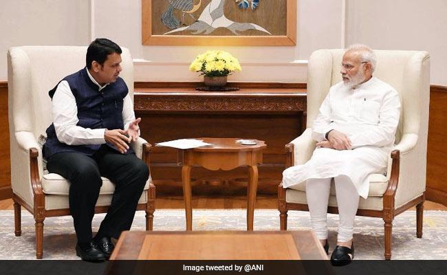 Amid Maratha Quota Agitation, Devendra Fadnavis Meets PM Modi