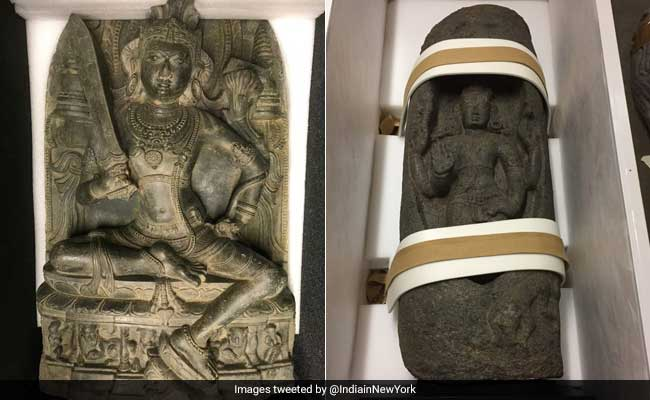 US Repatriates 2 Antique Statues, Worth $500,000, Stolen From India