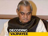 Video: Watch: Legacy Of Vajpayee, Often Described As Nehru Of The Right