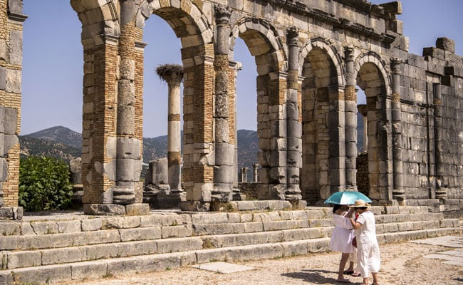 After Years Of Decay Moroccos Ancient City Of Volubilis Rises Again