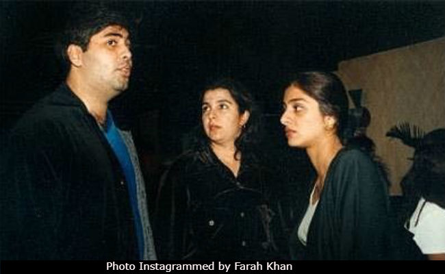 Karan Johar, Tabu, Farah Khan In Throwback Pic. Seen yet?