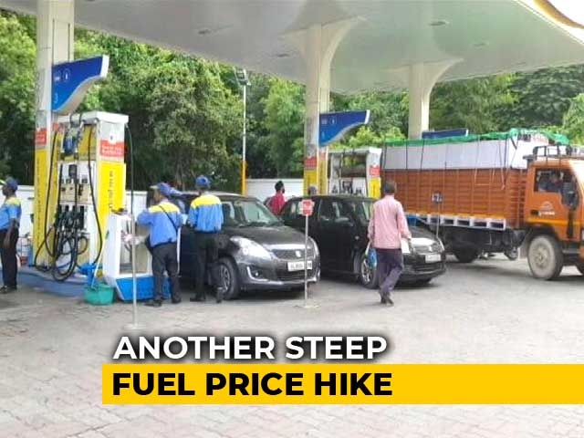 Video : Petrol, Diesel Prices Soar To New Record High