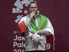Behdad Salimikordasiabi Completes Asian Games Weightlifting Hat-Trick