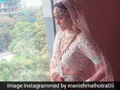 A Tour Of Celeb Bride Poorna Patel's Manish Malhotra Wedding Wardrobe