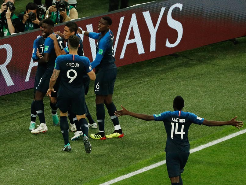 FIFAWorld Cup 2018: Paris parties as France beat Belgium to reach finals