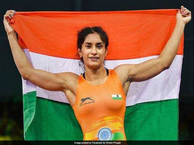 Asian Games 2018: Vinesh Phogat Claims Gold In 50kg Event