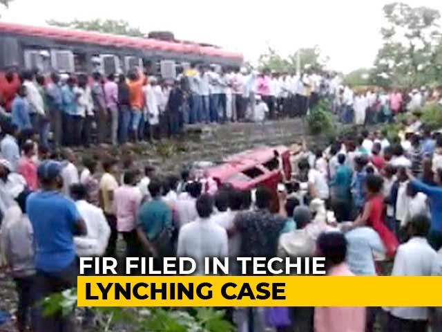 Video : FIR On Karnataka Techie's Killing Says Mob Targetted Cops Too