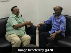 Rajinikanth Visits Karunanidhi In Hospital, Prays For His Speedy Recovery