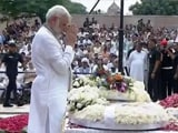 Video : PM Modi Pays His Last Respects To Atal Bihari Vajpayee