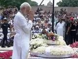 Video : PM Modi Pays His Last Respects To Atal Bihari Vajpayee