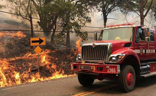 Firefighters Make Progress On Northern California Wildfire