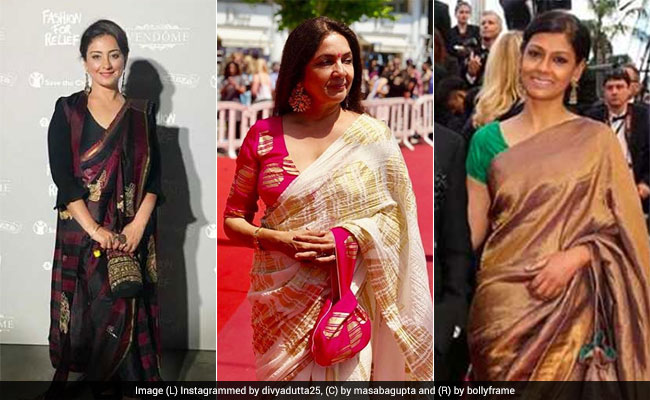 Cannes 2018: Kangana Ranaut Apart, These Bollywood Stars Also Lit Up Cannes In <i>Sarees</i>