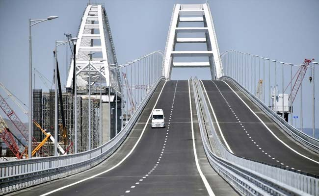 WATCH Opening Ceremony of Crimean Bridge in Russian Federation