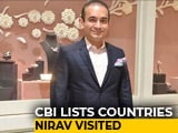 Video : Countries Let Nirav Modi Travel On Cancelled Passport Despite Alert