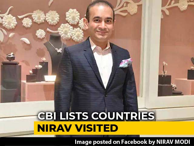 Video : Countries Let Nirav Modi Travel On Cancelled Passport Despite Alert