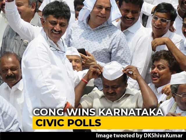 Video : Congress-JDS Beat Us Again, Cedes BJP On Karnataka Urban Polls
