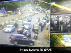 Caught On Camera: Speeding Car Loses Control, Runs Into People In Mumbai