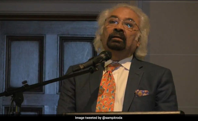 Sam Pitroda's 1984 Comment 'Not The Opinion Of The Party', Says Congress