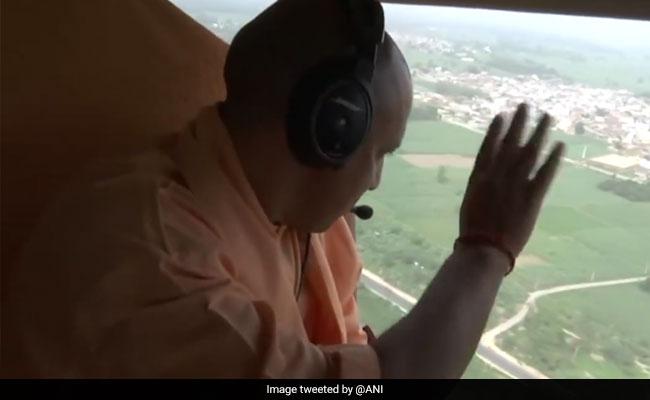 Before Top Cops, Yogi Adityanath Had Reviewed Kanwar Yatra From Chopper