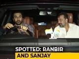 Video : Celeb Spotting! Alia Bhatt, Ranbir Kapoor & Sanjay Dutt