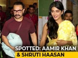 Video: Celeb Spotting: Aamir Khan, Shruti Haasan & More
