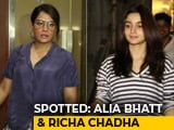 Video : Celeb Spotting: Alia Bhatt, Richa Chadha & Others