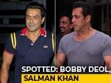 Video : Celeb Spotting: Salman Khan, Bobby Deol & Others