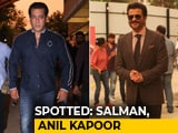 Video : Celeb Spotting: Salman Khan, Anil Kapoor & Other <i>Race 3</i> Cast Members