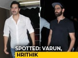 Video : Celeb Spotting: Varun Dhawan, Hrithik Roshan & Others