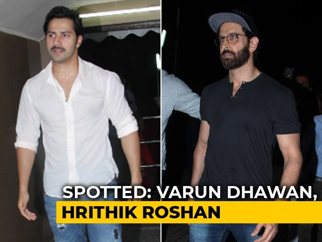 Celeb Spotting: Varun Dhawan, Hrithik Roshan & Others