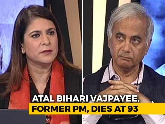 Video : Seshadri Chari On When Indira Gandhi Held An Umbrella Over Vajpayee's Head