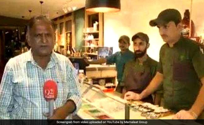 पाकिस्तानी पत्रकार चांद नवाब का नया वीडियो वायरल, फिर से भूल गए लाइनें