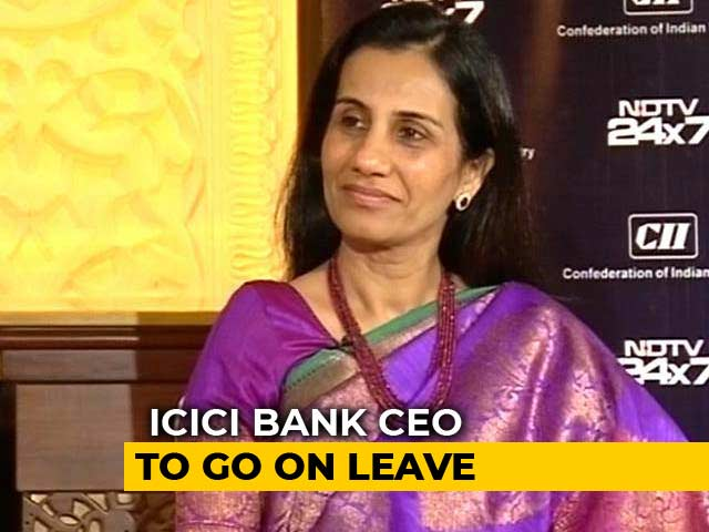 Video : Chanda Kochhar To Go On Leave, ICICI Bank Appoints Sandeep Bakhshi As COO