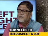 "Video : BJP's Chandan Mitra On Why Kairana Defeat Is A ""Serious Setback"""