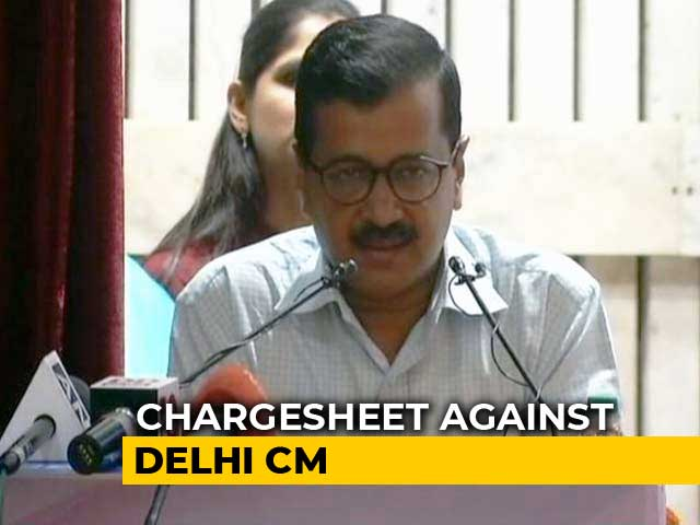 Video : Arvind Kejriwal To Be Charged In Delhi Bureaucrat Assault Case: Sources