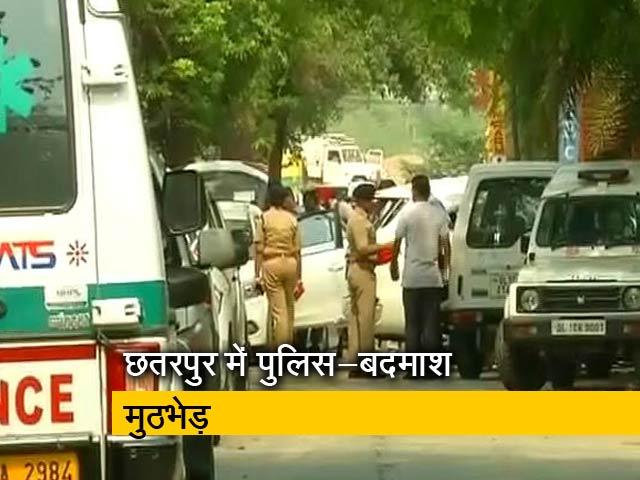 Video : दिल्ली : पुलिस के साथ मुठभेड़ में 4 बदमाश ढ़ेर