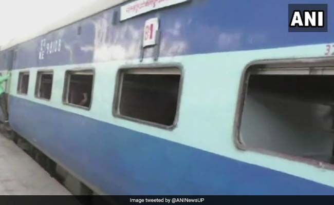 UP Police Aspirants Vandalise Train, Run Away With Pillows, Blankets