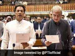 Imran Khan, 328 Newly-Elected Members Take Oath In Pakistan's Parliament