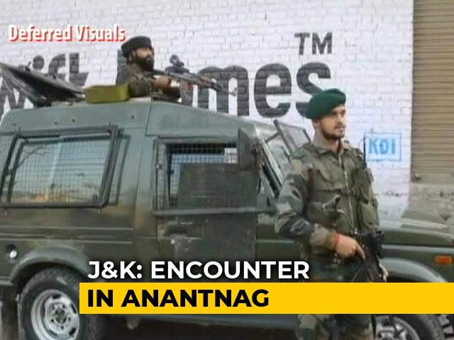 Video : 2 Hizbul Terrorists Killed In Encounter At Jammu And Kashmir's Anantnag