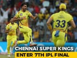 Video : Chennai Super Kings Beat SunRisers Hyderabad To Enter 7th IPL Final