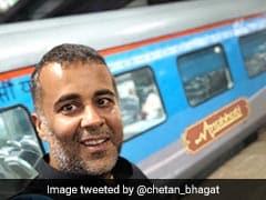 When Chetan Bhagat Urged Passengers To Chuck Air Travel For Train Journey In Anubhuti Coaches