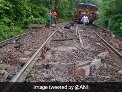 Goods Train Derails In Chhattisgarh After Maoists Remove Railway Tracks