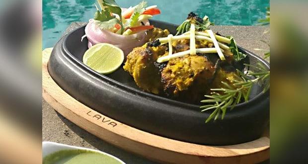 करी मुर्ग टिक्का