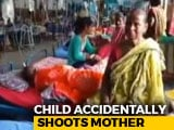 Video : Bengal Girl Shoots Mother With Pistol. She Thought It Was A Toy