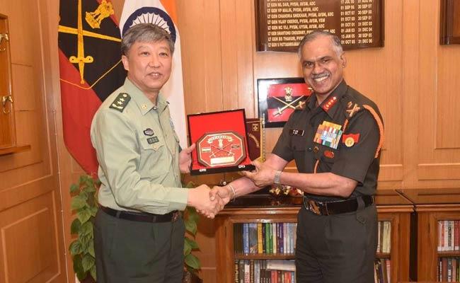 डोकलाम विवाद के बाद पहली बार चीनी सैन्य प्रतिनिधिमंडल भारत दौरे पर