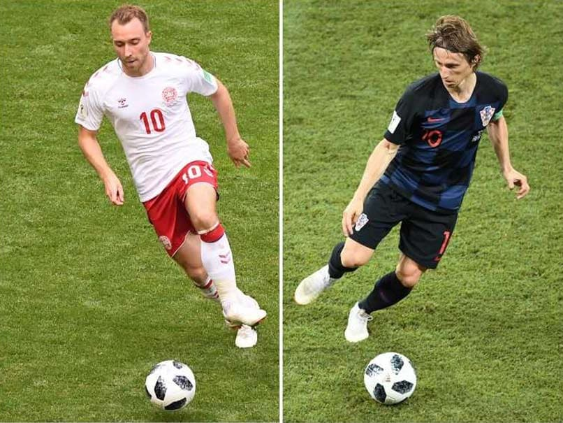 Croatia v Denmark 01 July 2018