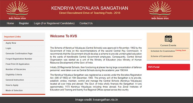 KV Teacher Recruitment Begins For 8339 Posts: List Of Documents To Apply