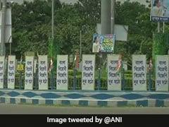 कोलकाता में अमित शाह की रैली से पहले बीजेपी और टीएमसी में 'पोस्टर वार'