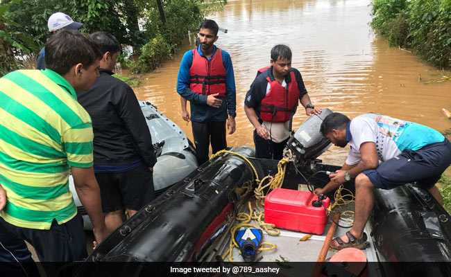 For Flood-Hit Kerala, Navy Launches 'Operation Madad '