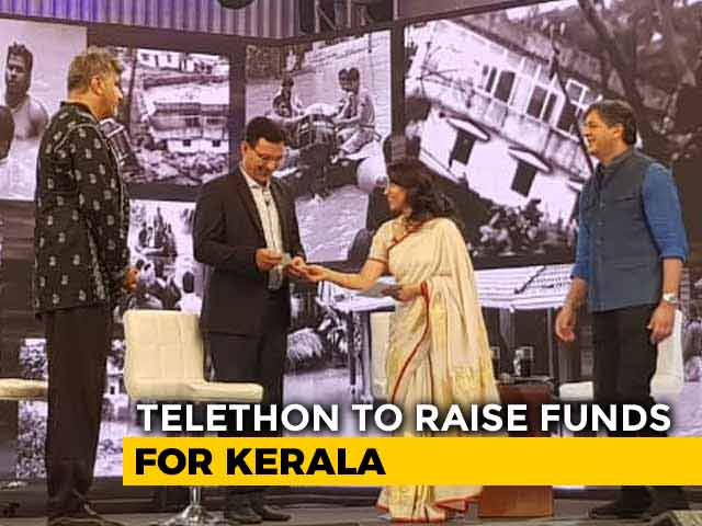 Video: Kersi Dubash Donates Rs 1 Lakh At #IndiaForKerala Telethon